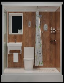 Förtillverkat badrum Misty