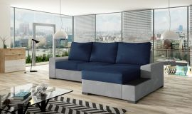 Corner sofa bed Romeo-dark blue-right