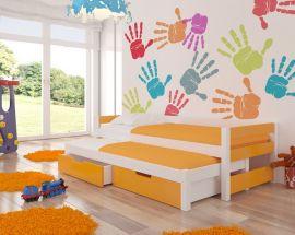 Children bed Flynn-orange