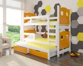 Children bed Gaston-orange