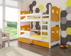 Children bed Esmerelda-orange