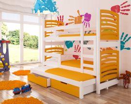 Children bed Narissa-orange