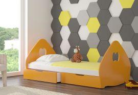 Children bed Calissa-orange