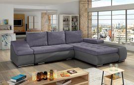 Corner sofa bed Roscoe-purple-right