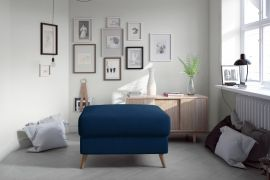 Pouf Jazzie-blue