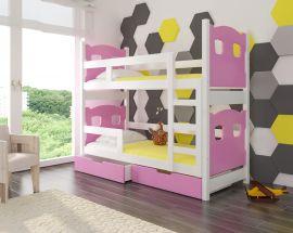 Children bed Esmerelda-pink