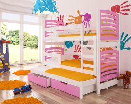 Children bed Narissa-pink