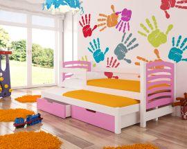 Children bed Malucia -pink