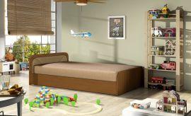 Bed Conan 80x195-light brown