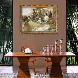 Väggplatta Queen Henrietta Maria
