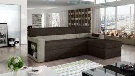 Corner sofa bed Shawnel-beige-brown-right