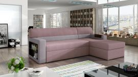 Corner sofa bed Shawnel-light pink-right