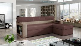 Corner sofa bed Shawnel-pink-right