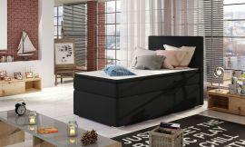 Boxspring bed Forsberg 90x200 cm-black