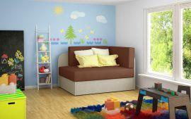 Sofa bed Naila-brown