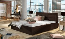 Bed Corbin dark brown-160x200cm