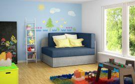 Sofa bed Naila-blue