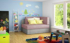 Sofa bed Naila-pink