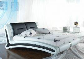 Säng Sacramento Lux 160-180 svart-vitt