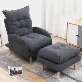 Armchair Sanford-dark-grey
