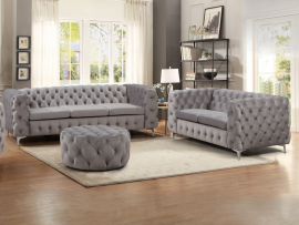 Sofa set Brasilia 3+2-grey