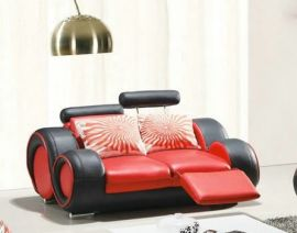 2-seater Sofa Space -red