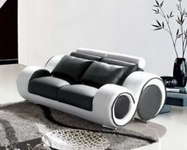 2-seater Sofa Space -black