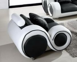 Arcmchair Space leather-black