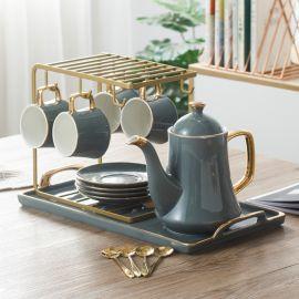 Tea Set Tazia, 11pcs-grey