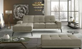 Corner sofa bed Lotte-beige-left