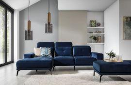 Corner sofa bed Lotte-blue-left