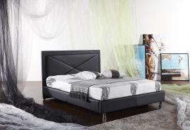 Säng Villablanca Lux 160-180 svart