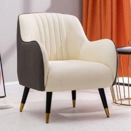 Armchair Vixen-white-grey