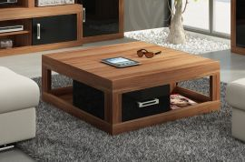Coffee table Riny-black-brown
